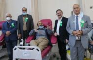 Blood donation camp organized by Pak Donors on Quaid-e-Azam's birthday