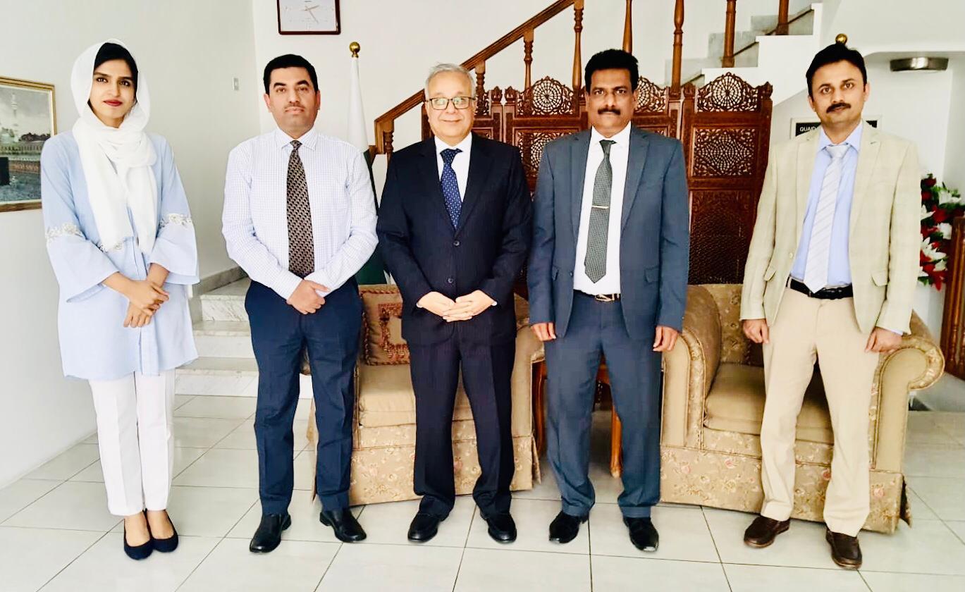 ENVOY EXPRESSES INTEREST TO PUBLISH A MAGAZINE ON PAKISTAN