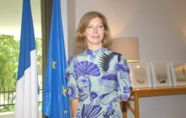 H.E Anne-Claire Legendre, Ambassador of France to Kuwait.