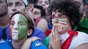 Italians vehemently fluttered their flag atop