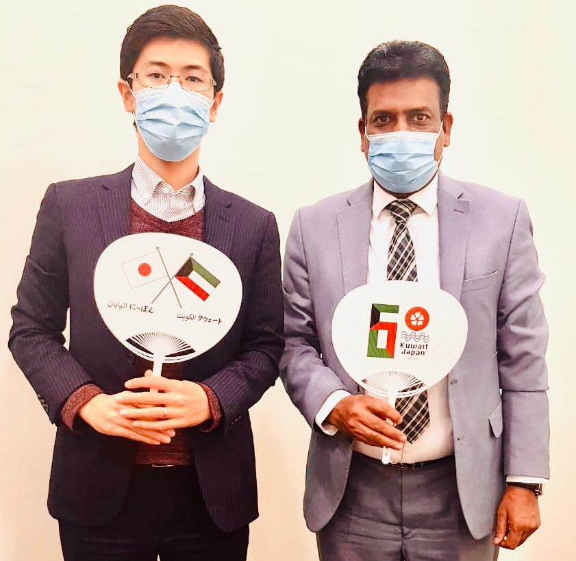 Mujahid Iqbal, Managing Editor of Contemporary Japan Magazine had the pleasure to met with Mr. Tatsumi, Cultural Attaché and Second Secretary for Cultural, Press and Protocol Affairs at the Embassy of Japan in Kuwait